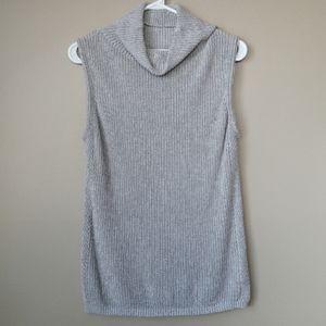 Aritzia Babaton Hiram Sleeveless Cowl Neck Sweater